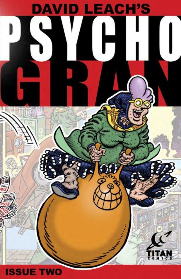 Psycho Gran #2 - Cover