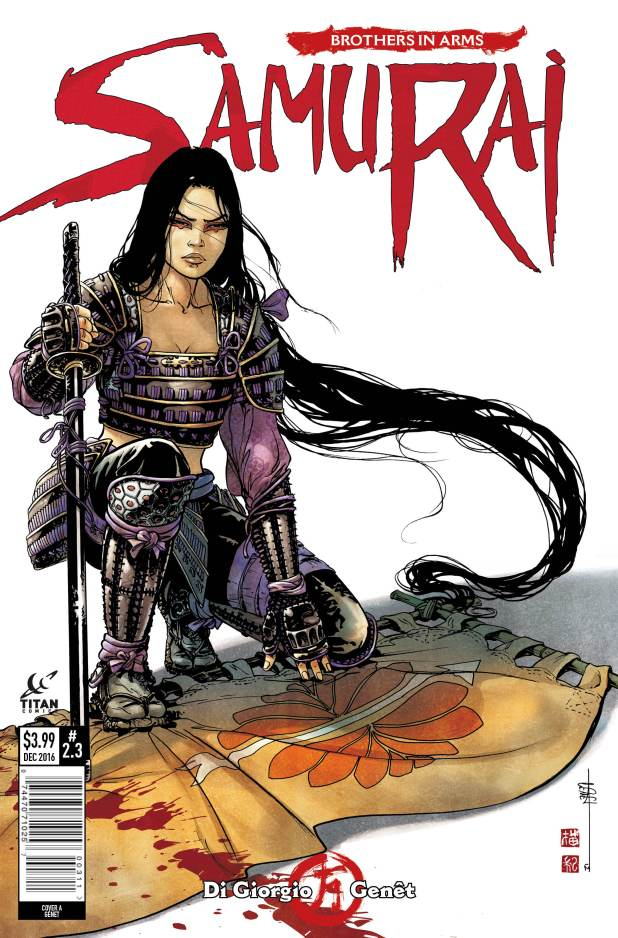 Samurai: Brothers In Arms #3 Cover A