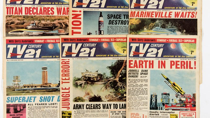 Comic Connections: TV Century 21, Dan Dare and Eagle – and Doctor Who