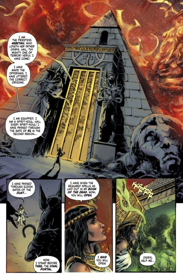 The Mummy #1 Preview 1
