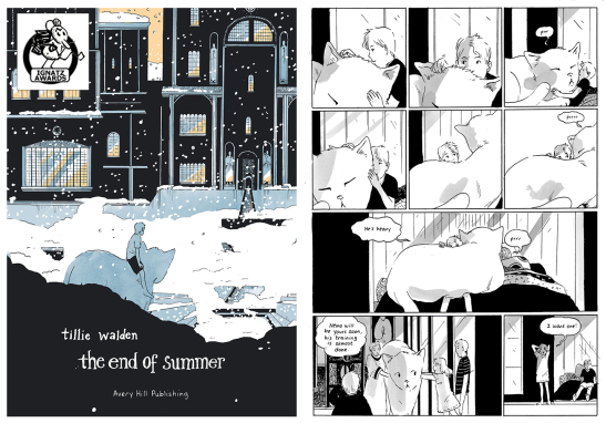 The new edition of Tillie Walden's award-winning debut graphic novel The End of Summer