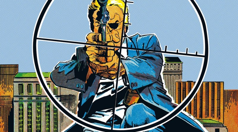 Promotional art for Rebellion's new One-Eyed Jack collection, based on the character's first cover appearance in Valiant