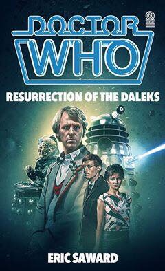 Resurrection of the Daleks - Fake Target Book Cover