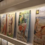 Ladybird Gallery Wall of Books. Image courtesy Ladybird Books