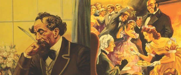 Art from An Adventure in History: Charles Dickens. Image courtesy Ladybird Books