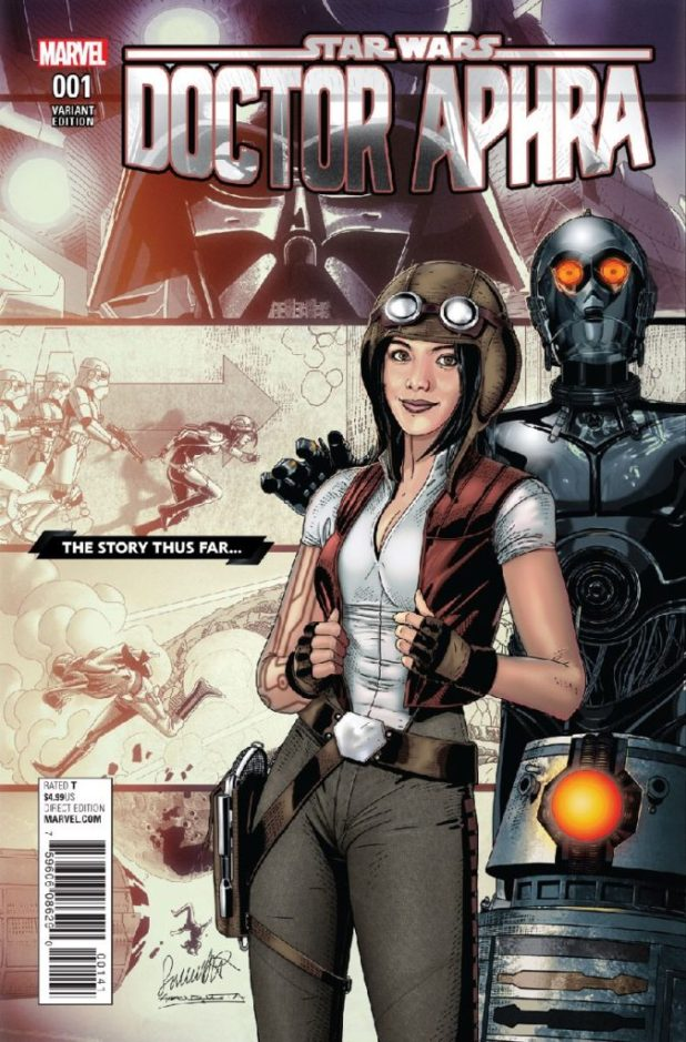 Star Wars: Doctor Aphra #1 - Variant Cover