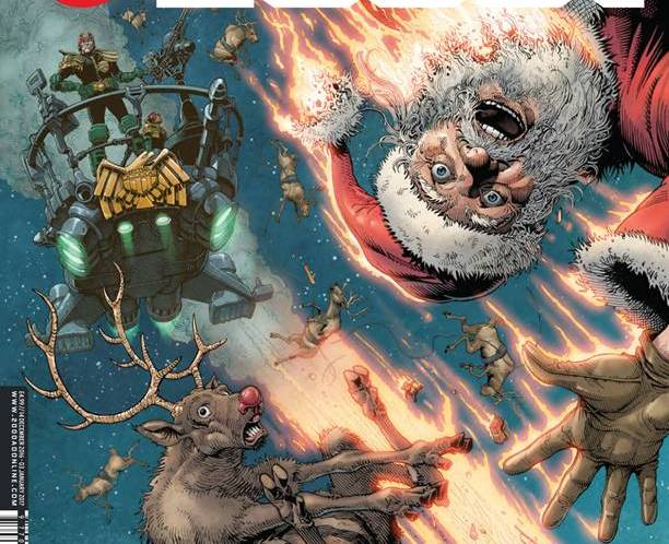 From 1940s Hollywood occult to kicking Tolkien – 2000AD's Christmas special is out next week!