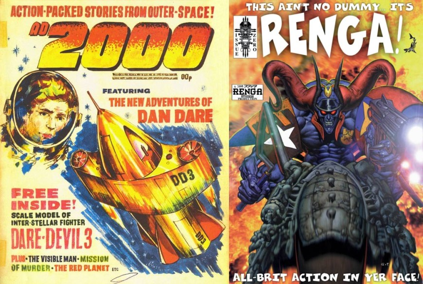 2000AD and Renga Dummy Covers