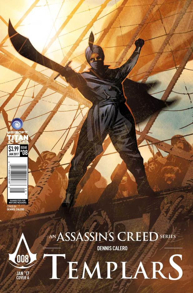 Assassin's Creed: Templars #8 Cover A: Dennis Calero