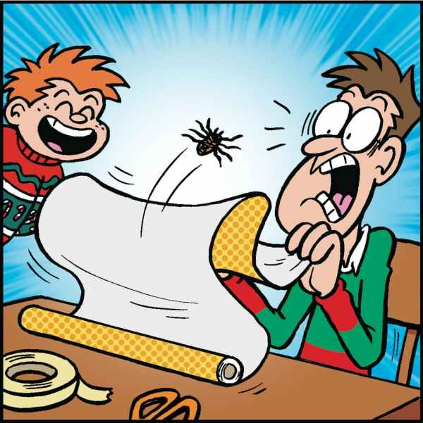 Tricky Dicky: Dicky shows you how to use your Beano Christmas prank pack!