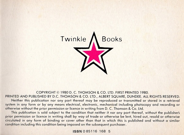 DCT Twinkle Books Series 1 Copyright S