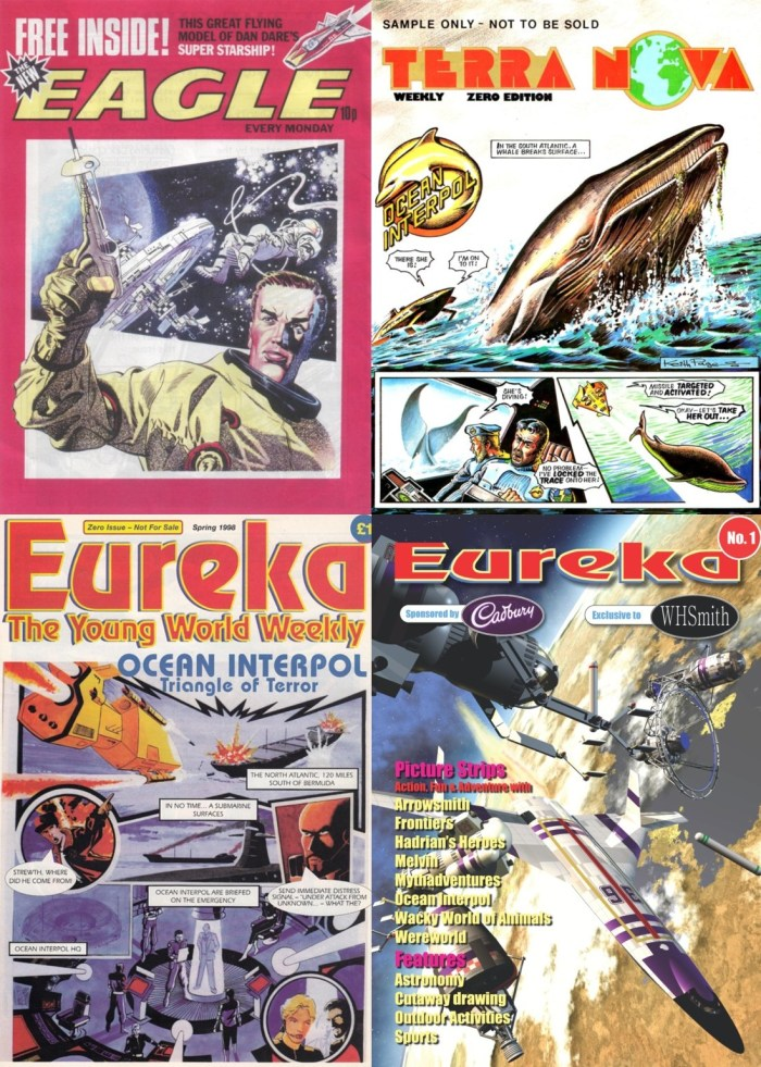 Eagle Replacements - Lost Eagle, Lightning, Terra Nova and two versions of Eureka