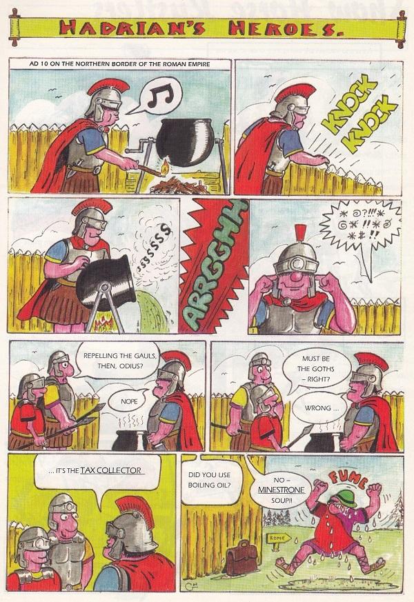 "Eureka A ""Hadrian's Heroes"""