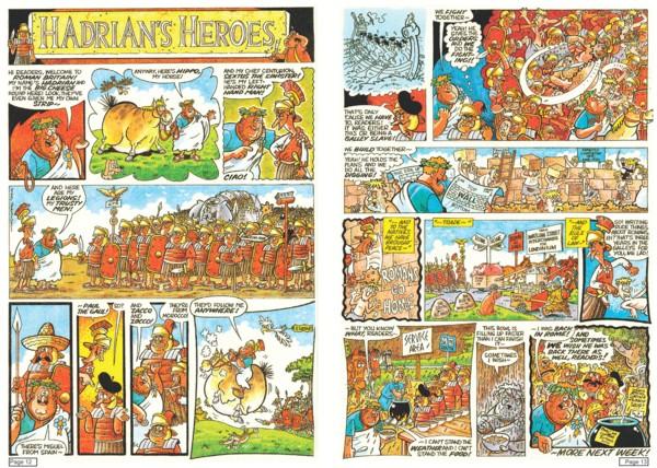 'Hadrian's Heroes',script by Nick Pemberton, art and colours by Nigel Parkinson - ©Nigel Parkinson