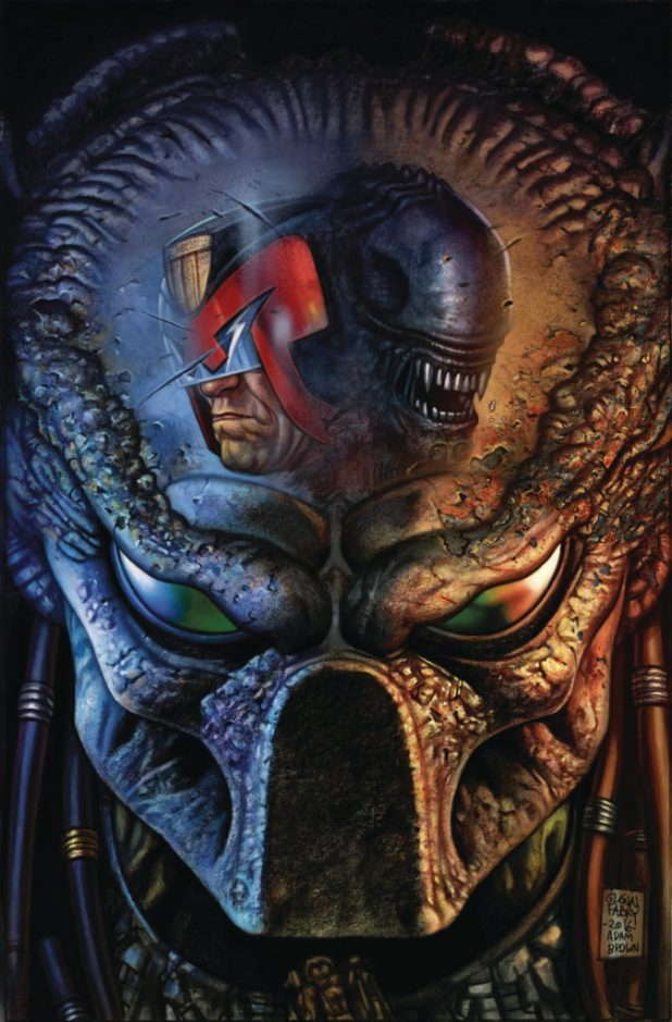 Predator vs. Judge Dredd vs. Aliens #3