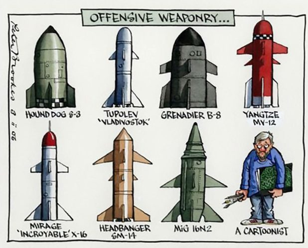 Peter Brookes - Offensive Weapons
