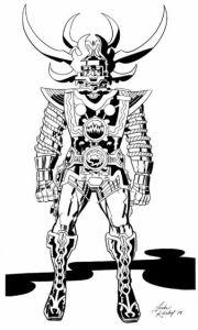 Character Design - Pencils Jack Kirby