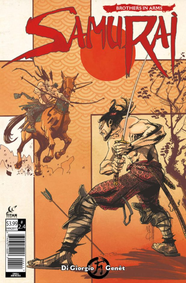 Samurai Brothers In Arms #4 (of 6) - Cover A