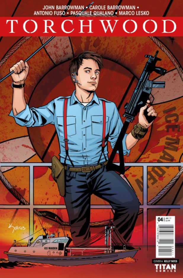 Torchwood #4 - Cover A