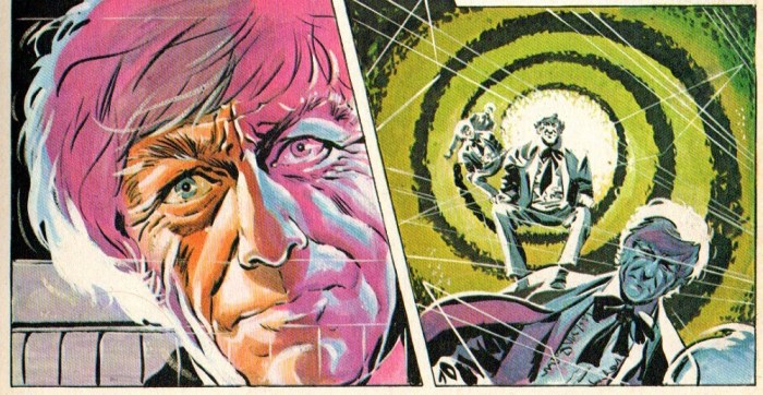 Doctor Who - Countdown Annual 1974 - art by Frank Langford