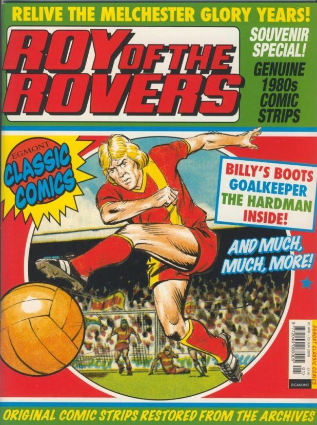 Roy of the Rovers Classic Comics Souvenir Special