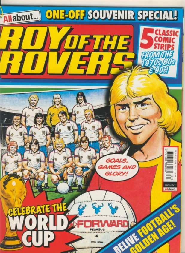 All About... Roy of the Rovers World Cup Special