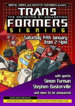 Transformers Signing - 14th January 2016 - Orbital Comics