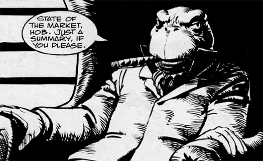 Doctor Who comic villain Josiah W. Dogbolter