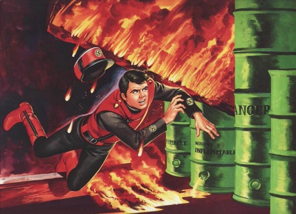 Captain Scarlet and the Mysterons - End Titles by Ron Embleton