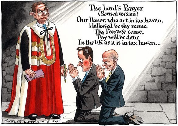 Peter Brookes - The Lord's Prayer