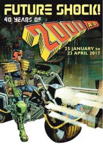 Future Shock! 40 Years of 2000AD - Poster SMALL