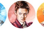 Doctor Who Sticker Pack by Graeme Neil Reid SNIP