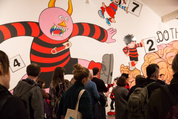This year's DCA Thomson Exhibition inspired by Beano, Commando, features new Ian Kennedy art