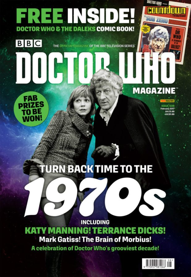Doctor Who Magazine 508 Cover Bag