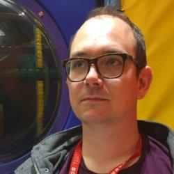 Abstract comics creator Gareth A. Hopkins