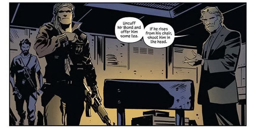 Declassified: James Bond – Hammerhead #4 (Sneak Peek)