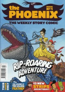 The Phoenix Issue One, published in January 2012. Cover by Neill Cameron