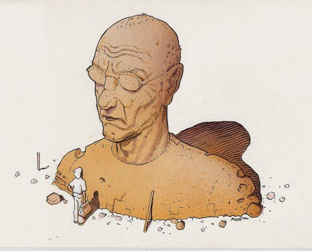 Self Portrait - Moebius