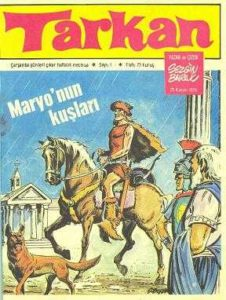 The first issue of the Turkish Tarkan comic