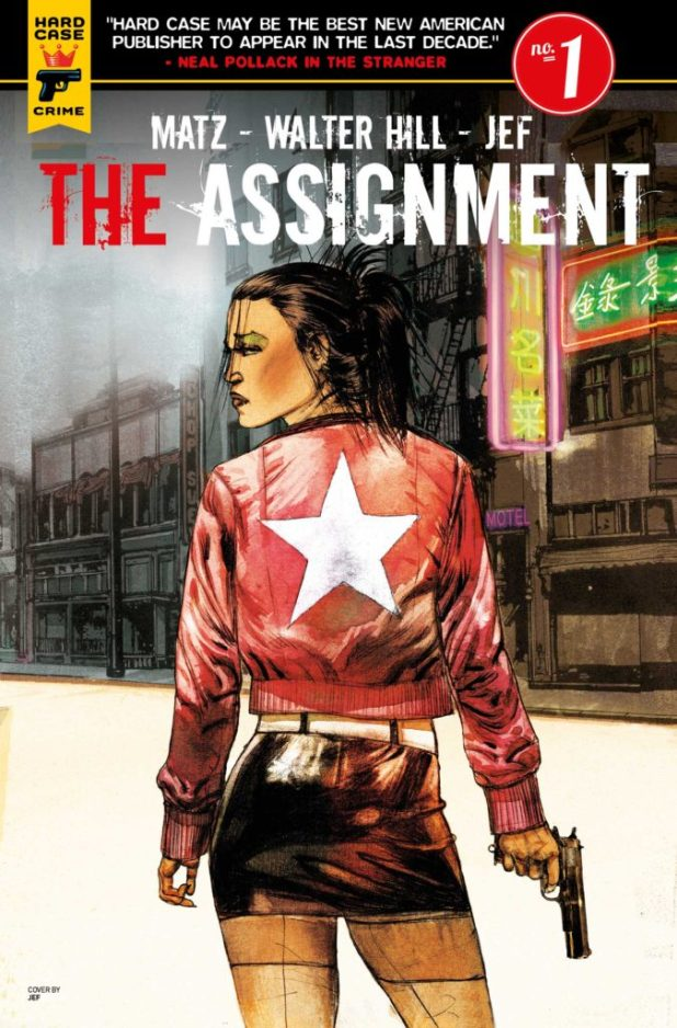 The Assignment #1 Cover A - JEF