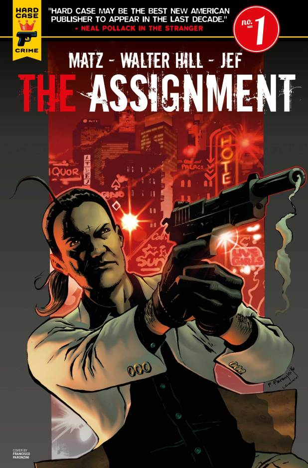 The Assignment #1 Cover E by Francisco Paronzini
