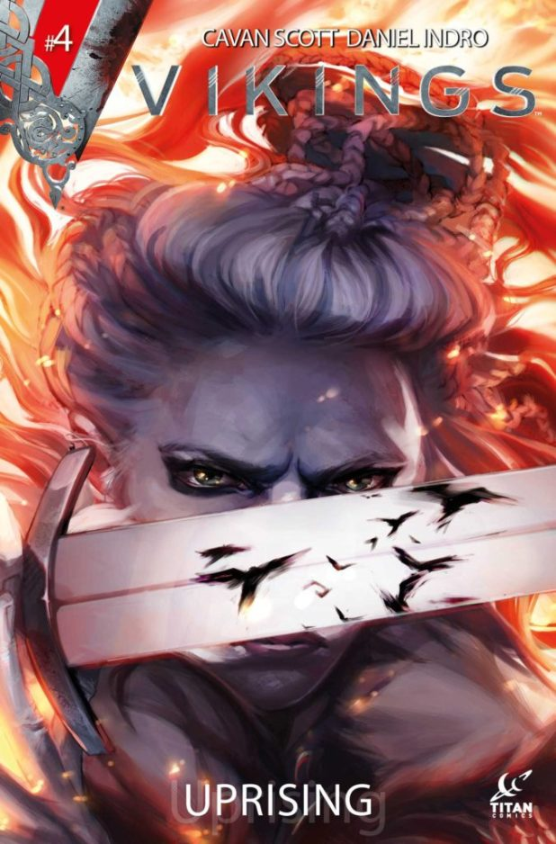 Vikings Uprising #4 Cover A by Verity Glass