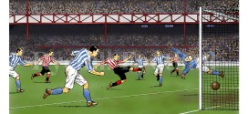 Roy of the Rovers artist David Sque Sunderland AFC print released