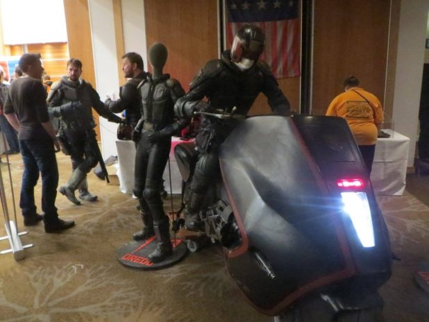 2000AD - 40 Years of Thrill-Power - Cosplayers