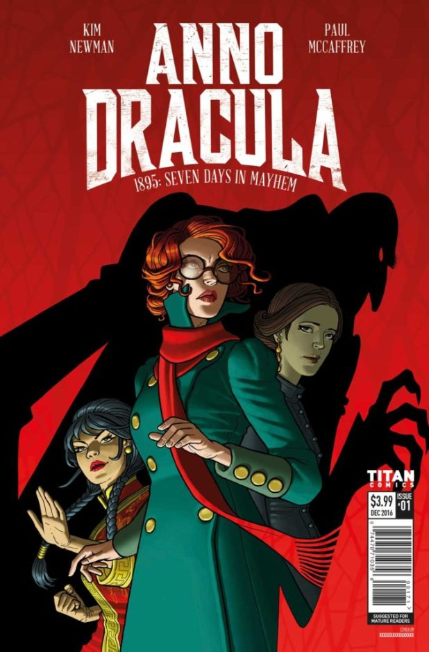 Anno Dracula Issue #1 Cover A - Paul McCaffrey