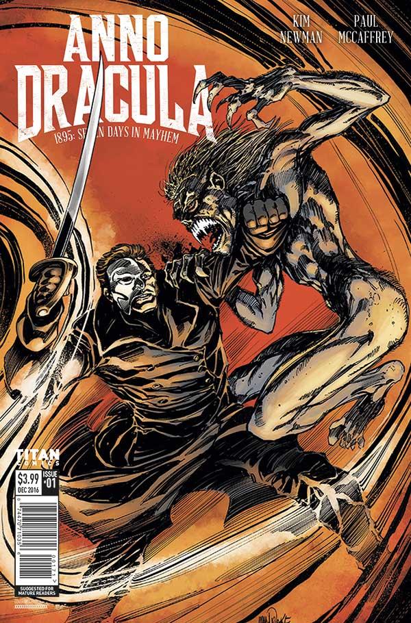Kim Newman's Anno Dracula Issue #1 Cover B - Tom Mandrake