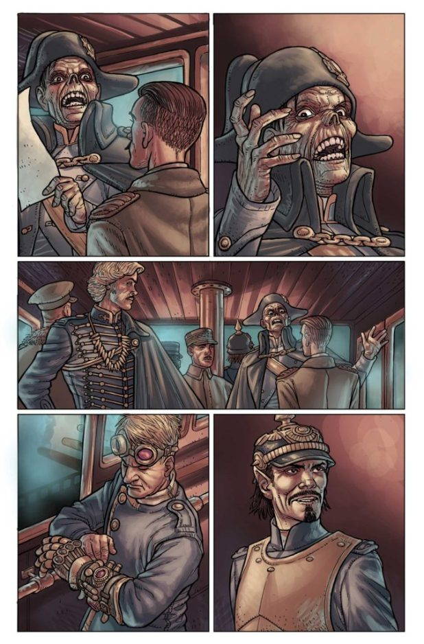 Kim Newman's Anno Dracula Issue #1 Preview 2