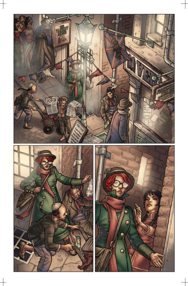 Kim Newman's Anno Dracula Issue #1 Preview 4
