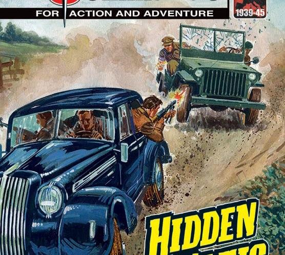 Hidden Nazis, Deadly Secrets Uncovered – in the new Commando comics