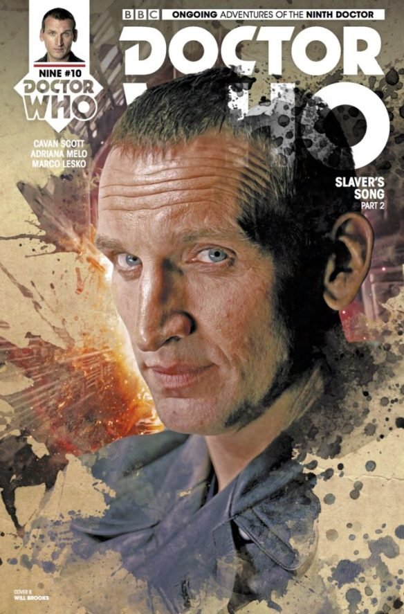 Doctor Who: The Ninth Doctor #10 - Cover B